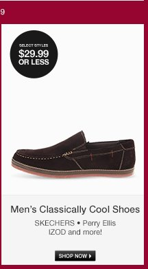 Mens Classically Cool Shoes