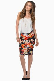 Heather Floral Skirt 22