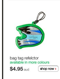 bag tag reflector - available in more colours - $4.95aud - shop now >