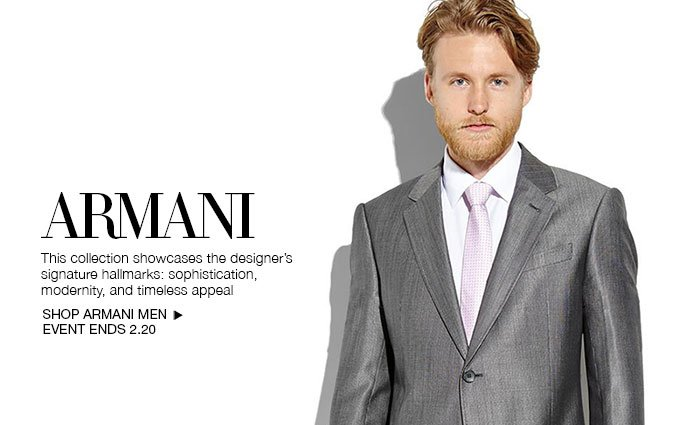 Shop Armani Suits - Men.