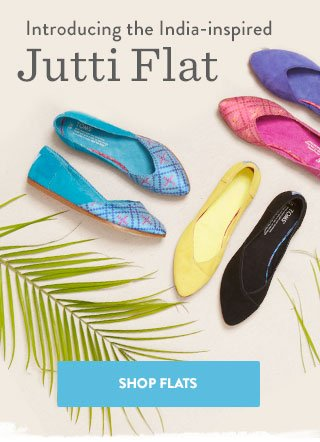 Introducing the India-inspired Jutti Flat - shop flats
