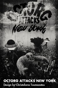 Octorg Attacks New York by Christoforos Toumazatos