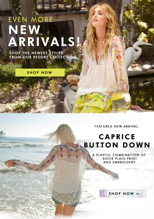 Even More New Arrivals Are Here!