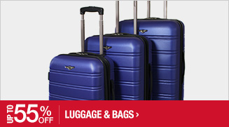 Up to 55% off Luggage & Bags