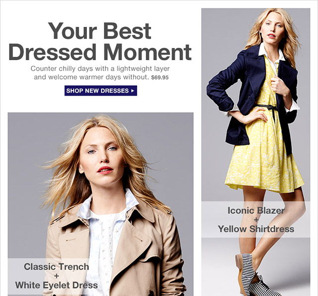 Your Best Dressed Moment | SHOP NEW DRESSES