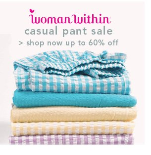 Shop Woman Within Casual Pant Sale