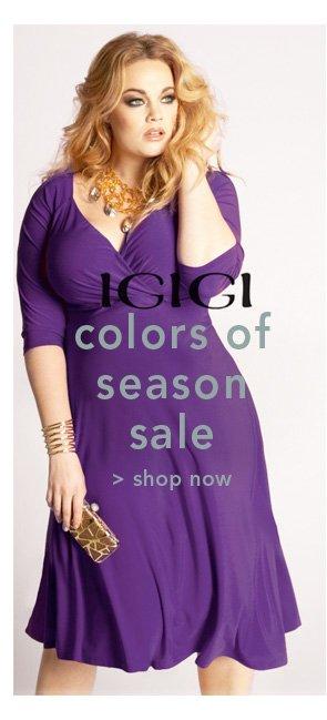 Shop IGIGI Colors of Season Sale