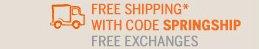 FREE SHIPPING*