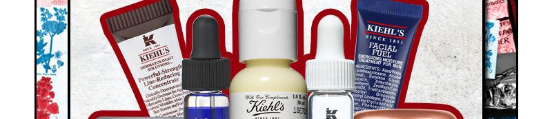 Kiehl's Since 1851 | Powerful-Strength Line-Reducing Concentrate | ROSA ARCTICA | MIDNIGHT RECOVERY CONCENTRATE | Creme de Corps | DERMATOLOGIST SOLUTION | FACIAL FUEL | POWERFUL WRINKLE REDUCING CREAM