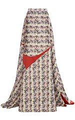 Marble Jacquard Skirt