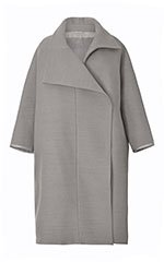 Grey Double Felt Coat