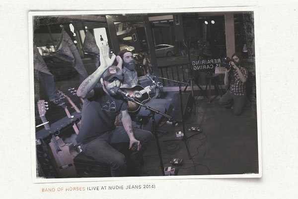 Band of Horses live at Nudie Jeans LA House