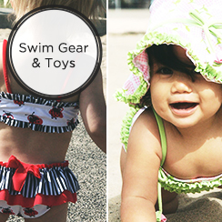 Let's Splash: Swimwear & Swim/Beach Toys