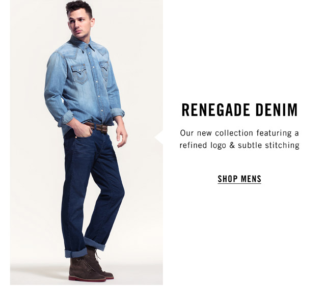 Renegade Denim - Shop Mens