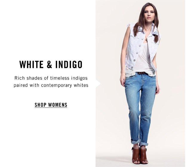 White & Indigo - Shop Womens