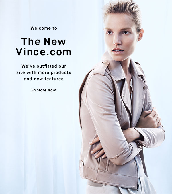 Welcome to The New Vince.com - Explore now