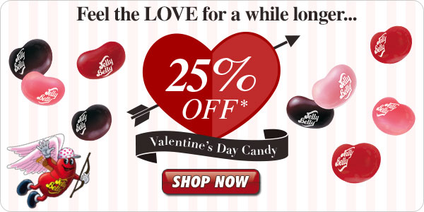 Limited Time: Valentine's Day Candy, up to 25% Off!