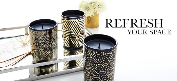 Refresh Your Space: Home Fragrance