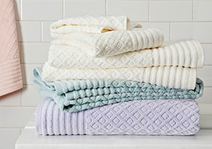 Refresh Your Space: Bath Linens