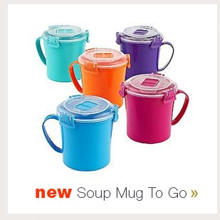 New Soup  Mug To Go »