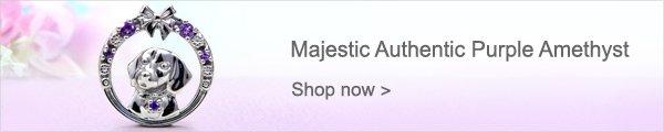Majestic Authentic Purple Amethyst