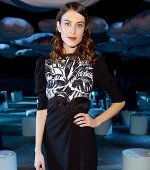 Alexa Chung Gets Darkly Romantic in Marc Jacobs