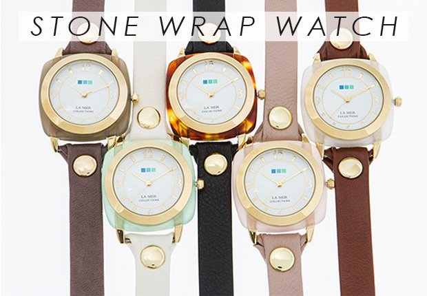 Stone Wrap Watch
