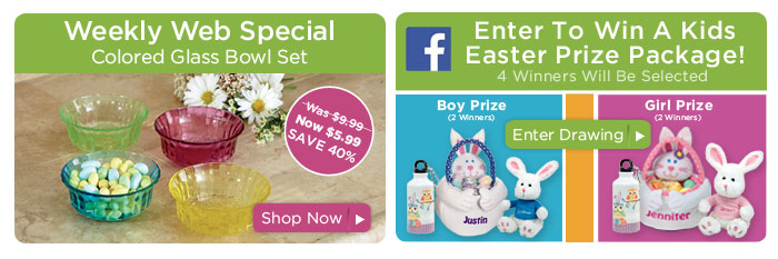 Weekly special & Facebook Easter Contest