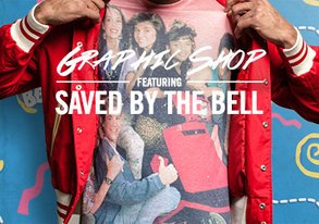 Shop Graphic Shop: Saved by the Bell