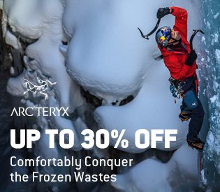 Up to 30% Off Arc'teryx