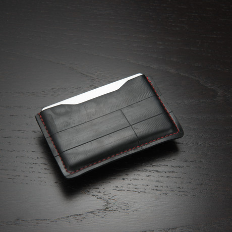 NOSO Slim Wallet // Fire Red