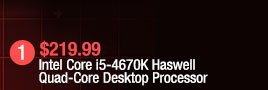 Intel Core i5-4670K Haswell Quad-Core Desktop Processor