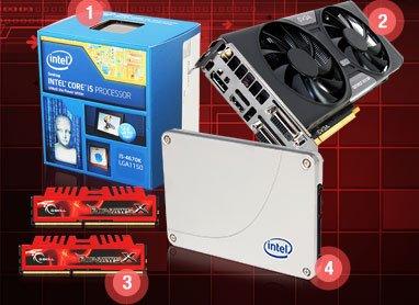 CPU, VGA, SSD, Memory