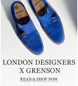 London Designers x Grenson. Six top Names create an exclusive collection for Mr Porter. Read & shop now