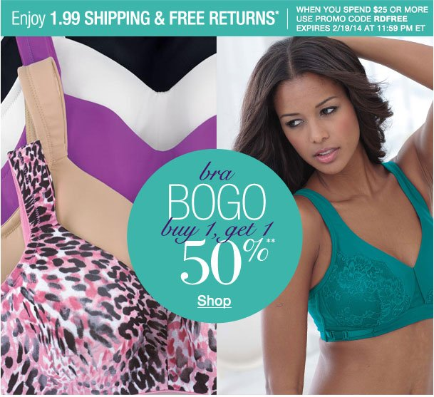 Enjoy $1.99 shipping & Free returns when you spend $25 or more! Use RDFREE