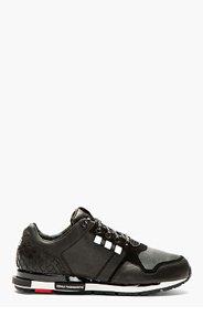 Y-3 Black Low-Top Vern Sneakers for men