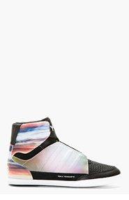 Y-3 Mauve Honja High-Top Sneakers for men