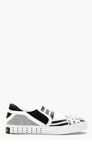 Y-3 White Molded Sole Laver Loafer for men