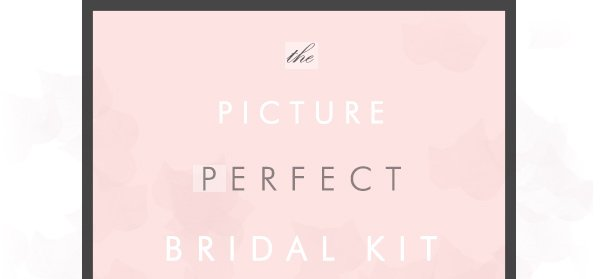 the picture perfect bridal kit