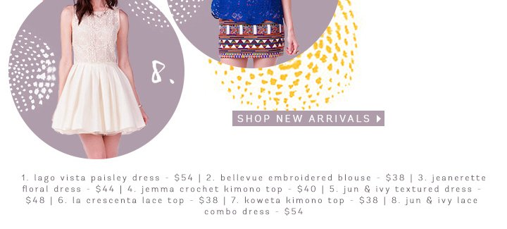 Gold Medal Worthy New Arrivals!