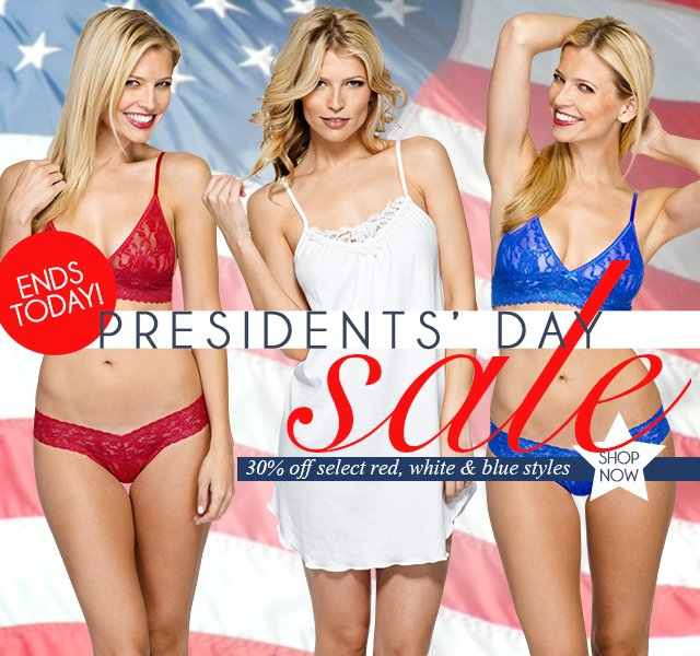Presidents' Day Sale! Up to 30% off.