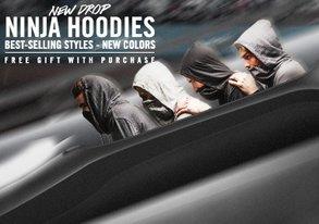 Shop NEW Ninja Hoodies are HERE