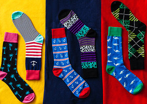 Shop BRAND NEW: Best Patterned Socks