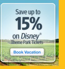 Save up to 15% on Disney