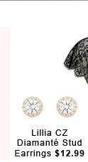 Lillia NZ Diamante Stud Earrings