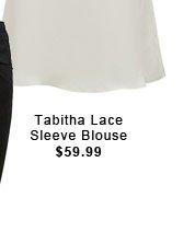 Tabitha Lace Sleeve Blouse
