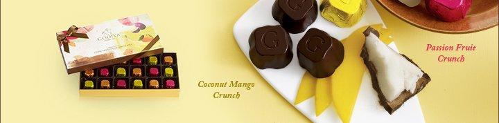 Coconut Mango Crunch | Passion Fruit Crunch