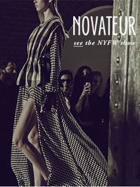 NOVATEUR see the NYFW show