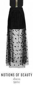 NOTIONS OF BEAUTY dress - $890