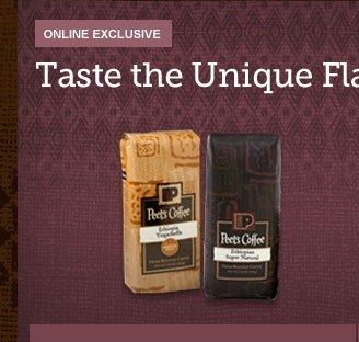 ONLINE EXCLUSIVE -- Taste the Unique Flavors of Ethiopia -- Ethiopian Discovery Duo